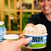 Showcase Serves Ben & Jerry's