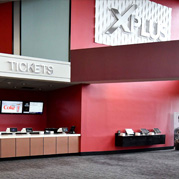 Showcase Cinema de Lux Farmingdale Ticket lobby