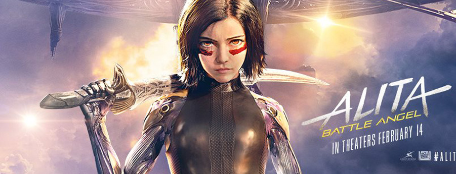 Alita Battle Angel Banner