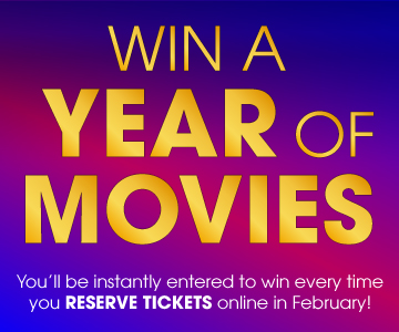 Win a year of movies with Showcase