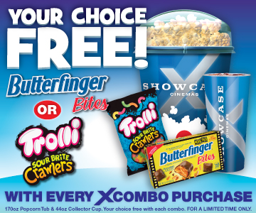 Your Choice free Butterfingers or Sour Brite
