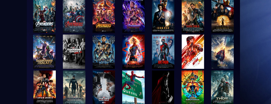 Marvel 22 Movie Marathon