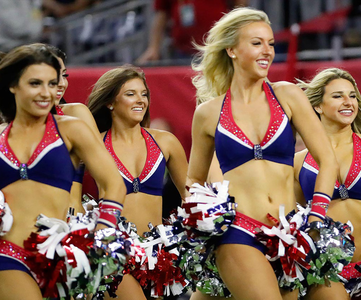 Patriot Cheerleaders coming to Patriot Place