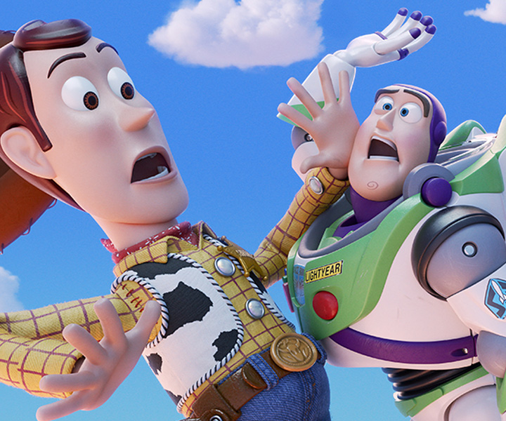 Woody and Buzz Toy Story 4