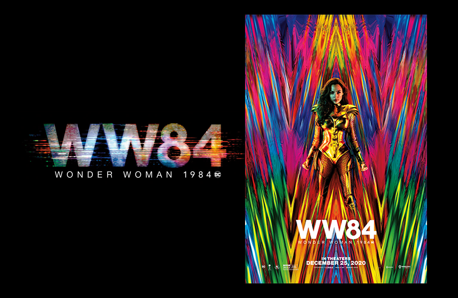 Wonder Woman 1984 poster Giveaway